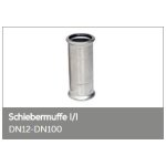 Pressfittings Schiebemuffe