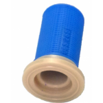 Plastic nozzle filter blue