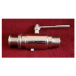 Tank connector with ball valve and wine thread 5/4