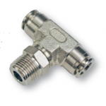 TEE-stud fittings threaded conical