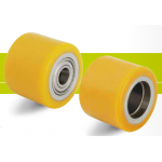 Rollers for pallet trucks tread Extrathane