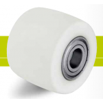 Rollers for pallet trucks from polyamide