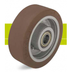 Heavy duty wheels with tire Besthane