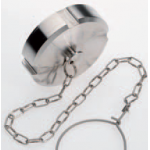 SMS blanking nut with chain