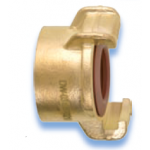 GEKA Plus Brass with female thread, authorized for drinking water
