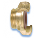 GEKA Plus Brass with male thread, authorized for drinking water