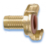 GEKA Plus Brass with hose nozzle, authorized for drinking water