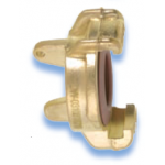 GEKA Plus Brass with blind coupling, authorized for drinking water