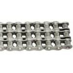 Stainless steel roller chains TRIPLEX
