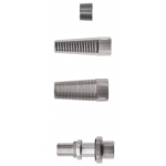 Threaded adapters for wooden barrels