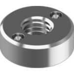 Stainless steel two-hole nuts DIN 547