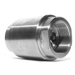Stainless steel check valve with Standoff