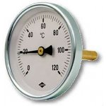 Thermometer brass 1/2
