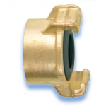 GEKA Plus Coupling Brass Standard with female thread