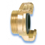 GEKA Plus Coupling Brass Standard with male thread