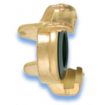GEKA Plus Brass blind coupling