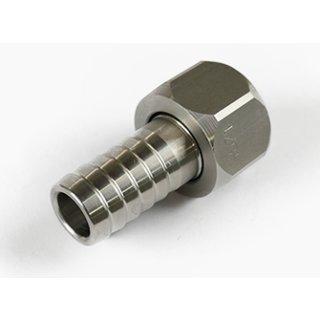 Edelstahl V4A Gewindefitting Schraubfitting Fittings Fittinge Schlauch-Tülle wäh